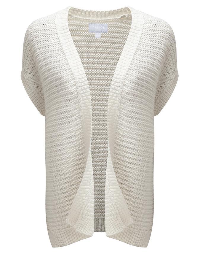 Textured Cotton Kimono