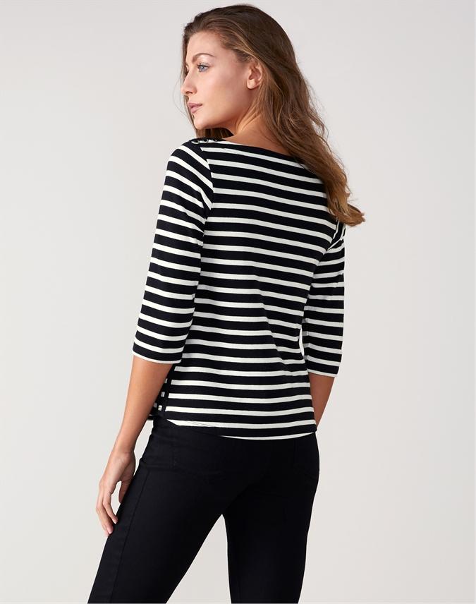 Cotton Laced Shoulder Top