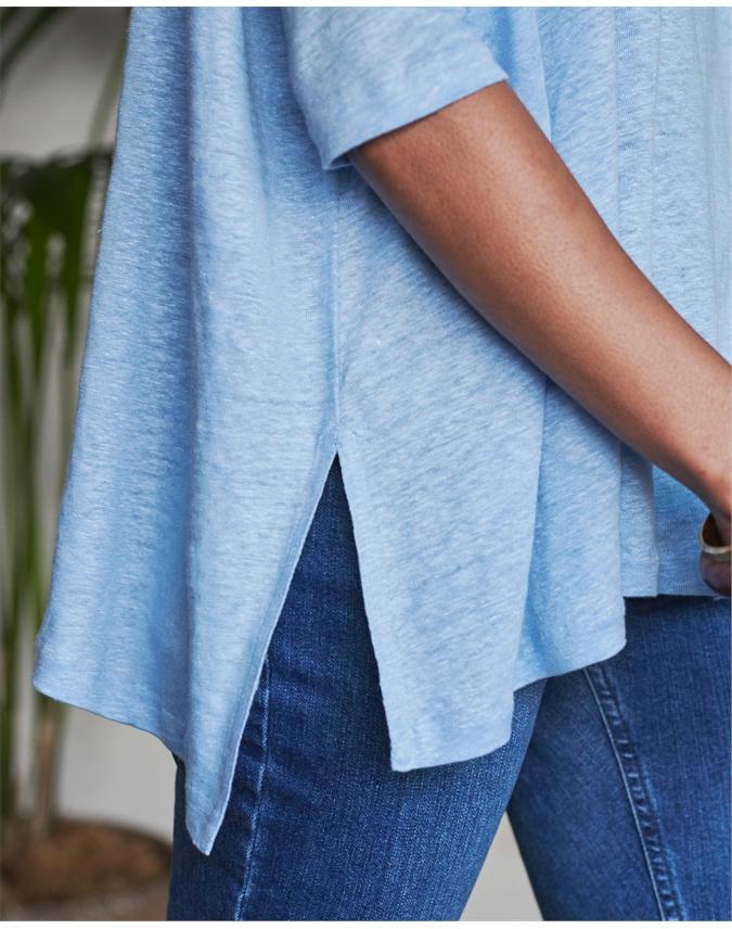 Luxury Linen Poncho