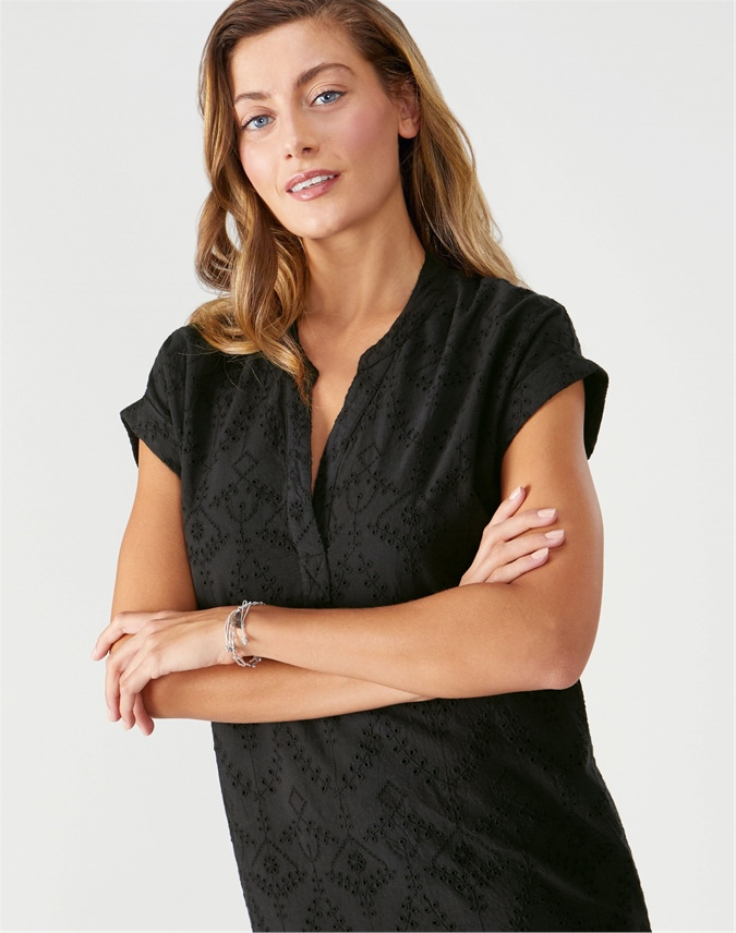 Broderie Anglaise Dress