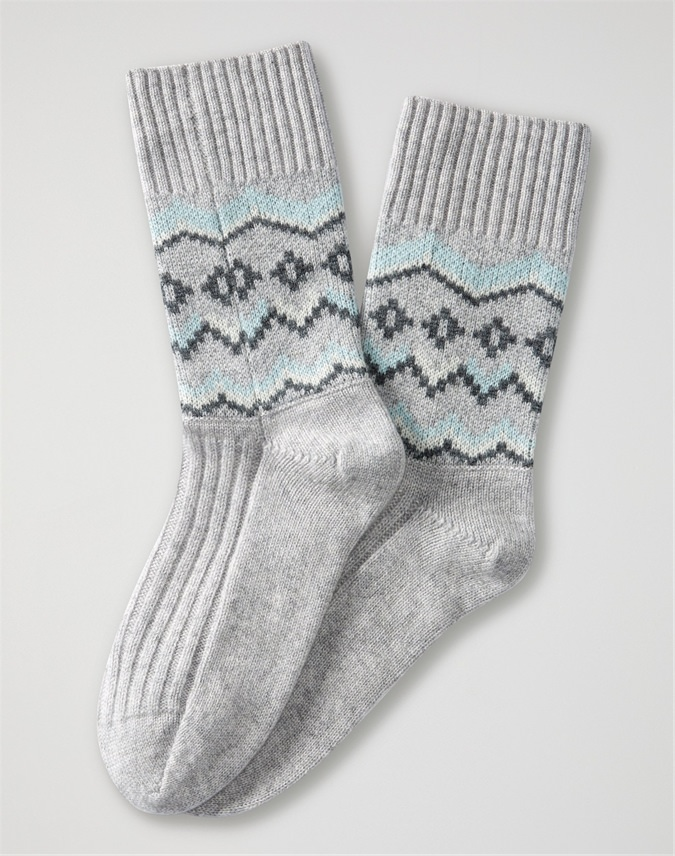 Cashmere Lounge Sock