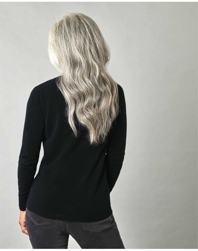 Cashmere Slim Fit V Neck Sweater