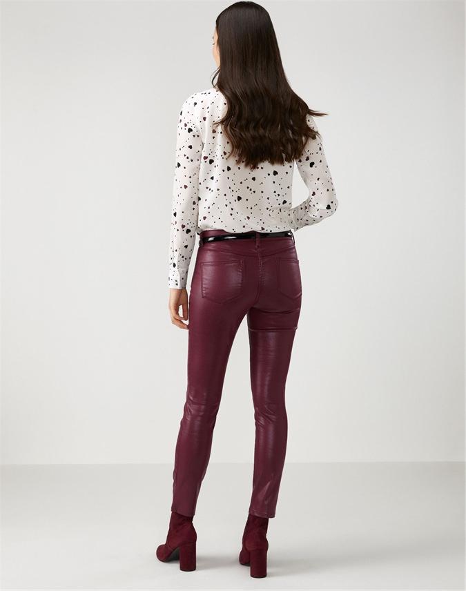 Coated Skinny Jean