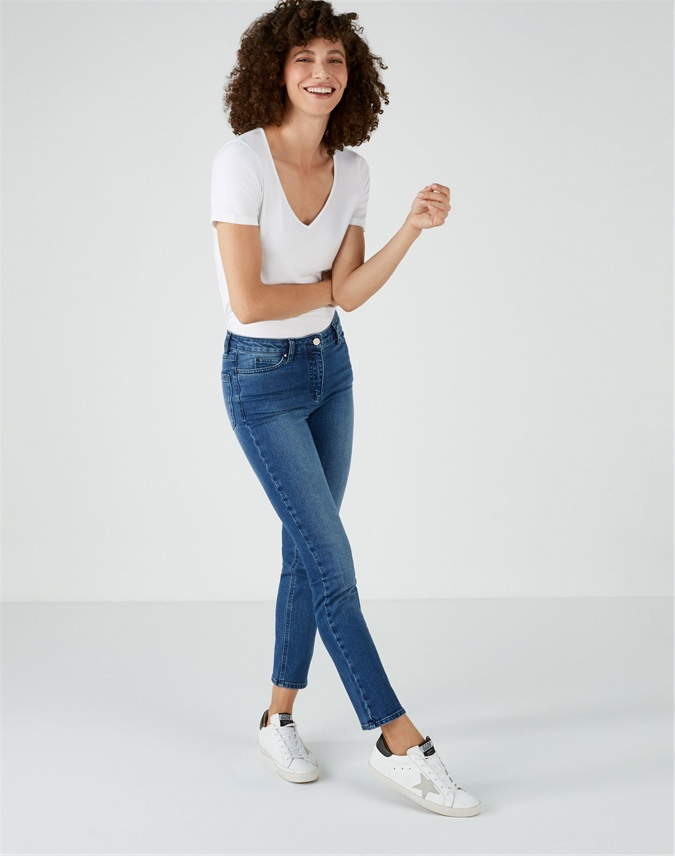 Duchy Cropped Jean