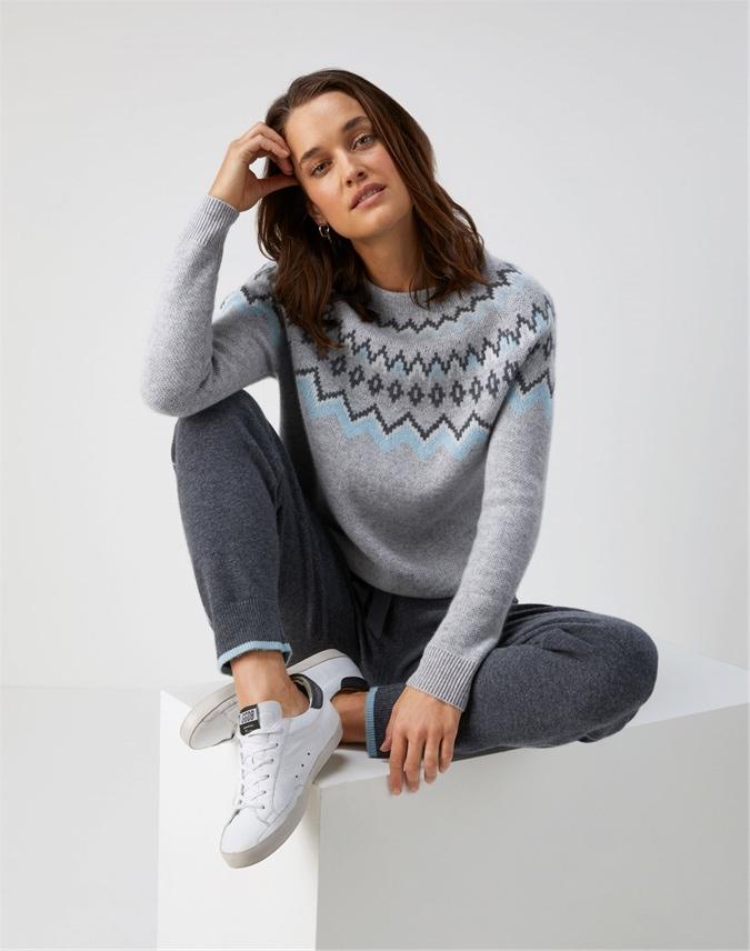Fairisle Yoke Sweater