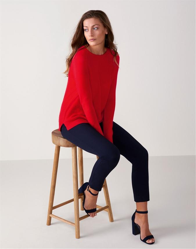 Gassato Soft Textured Rib Sweater