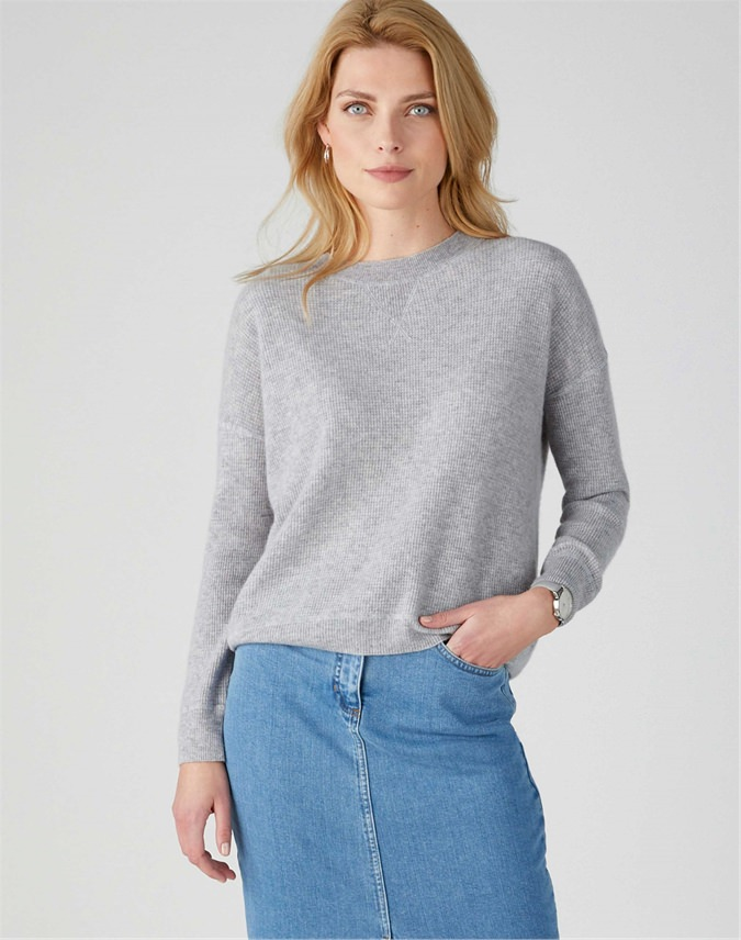 Gassato Soft Textured Sweatshirt