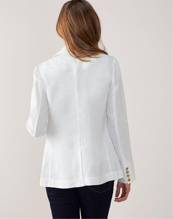 Laundered Linen Jacket