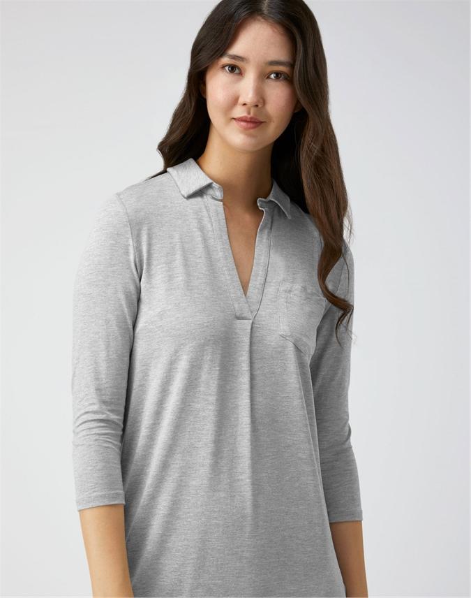 Luxury Jersey Night Shirt