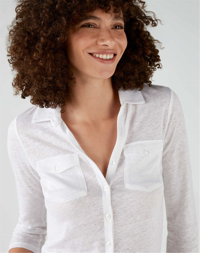 Luxury Linen Jersey Shirt