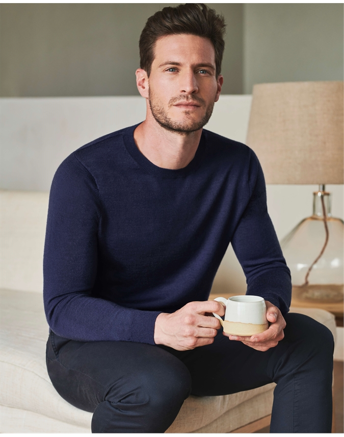 Merino Crew Neck Sweater
