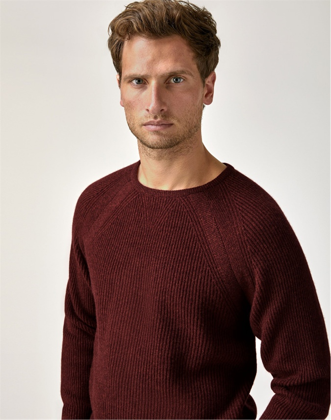 Mens Gassato Ribbed Sweatshirt
