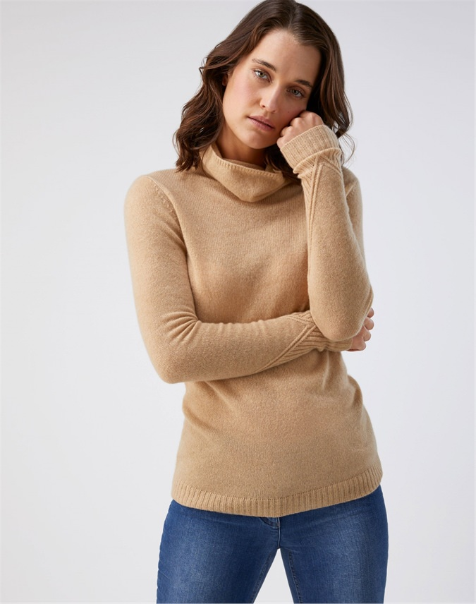 Organic Lofty Polo Sweater