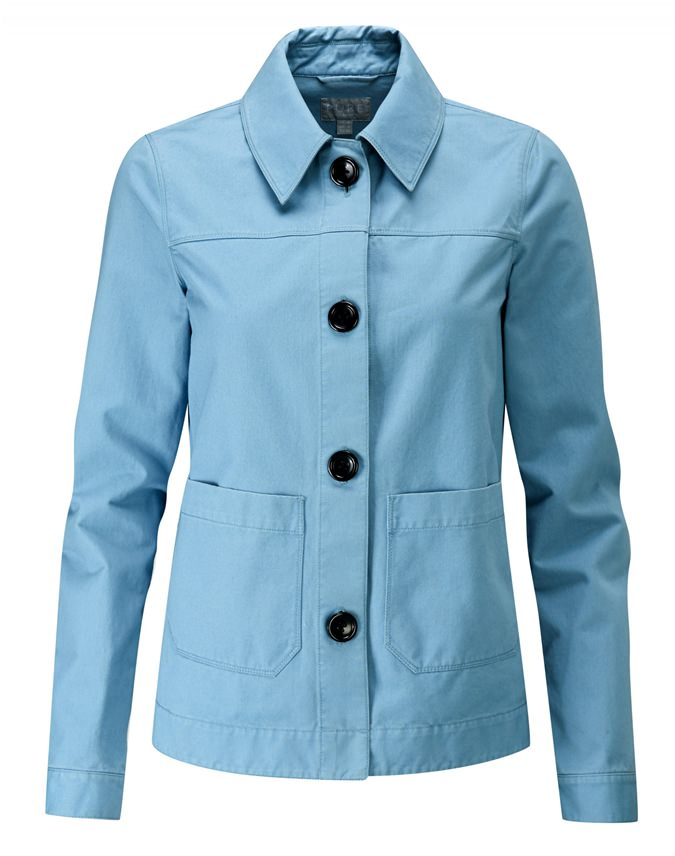 Soft Washed Cotton Jacket