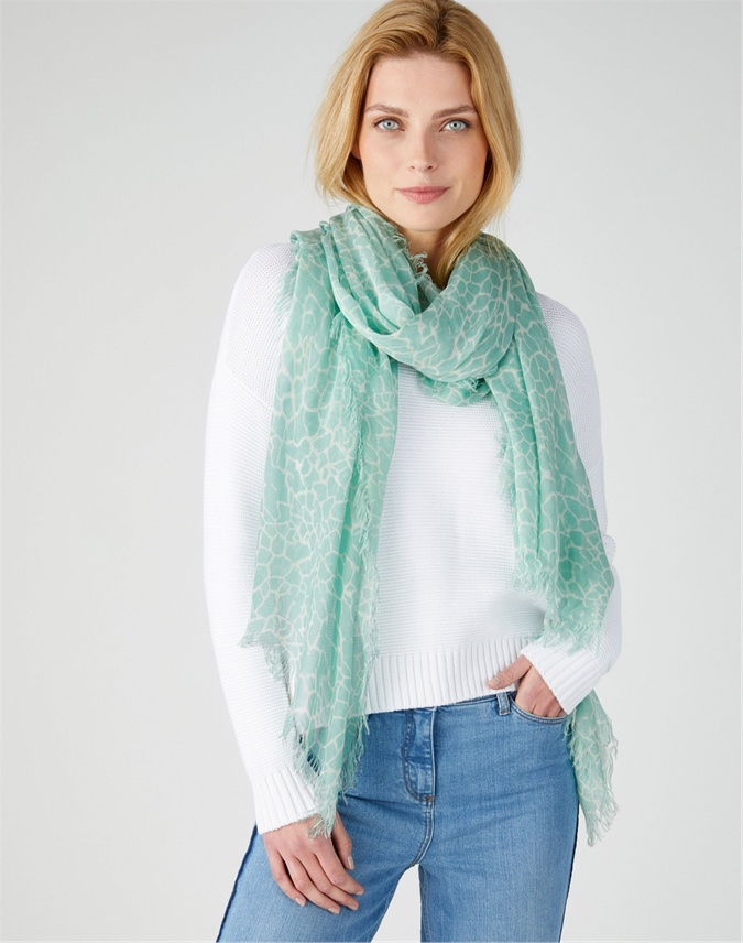 Ultra Soft Printed Scarf