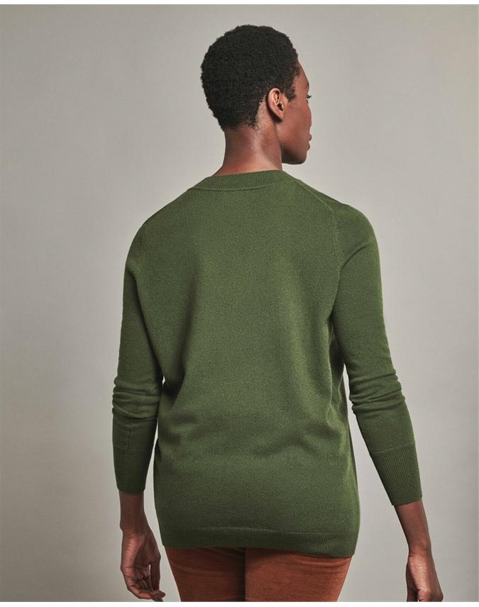 Cashmere Boyfriend V Neck Sweater