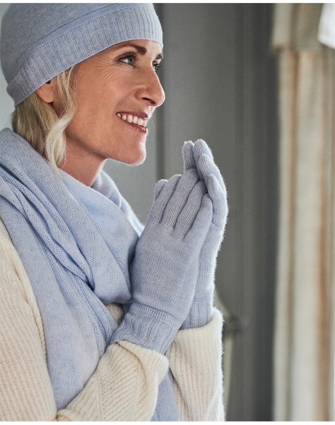 Womens Cashmere Gloves