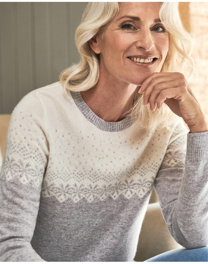 Cashmere Fairisle Sweater