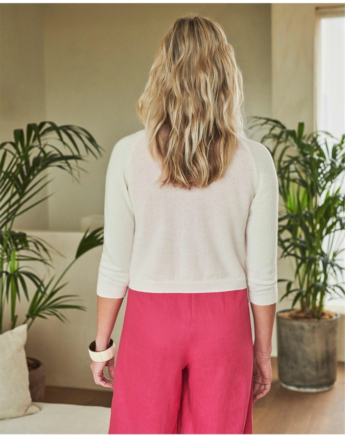Cashmere Cropped Shrug