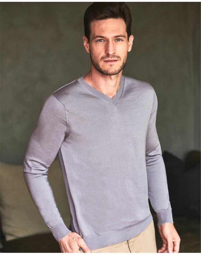 Merino V Neck Sweater