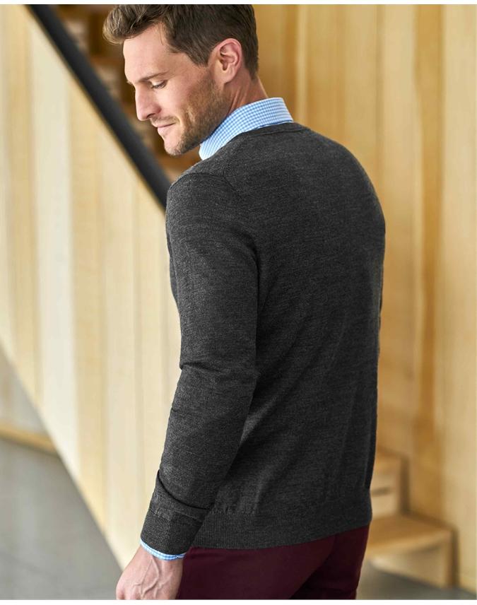 Merino Crew Neck Sweater