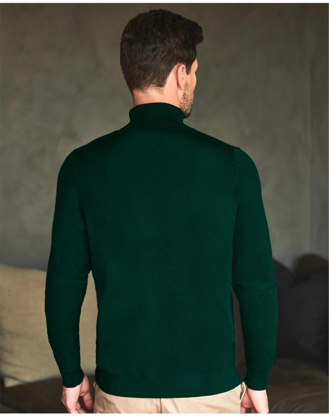 Merino Polo Neck Sweater