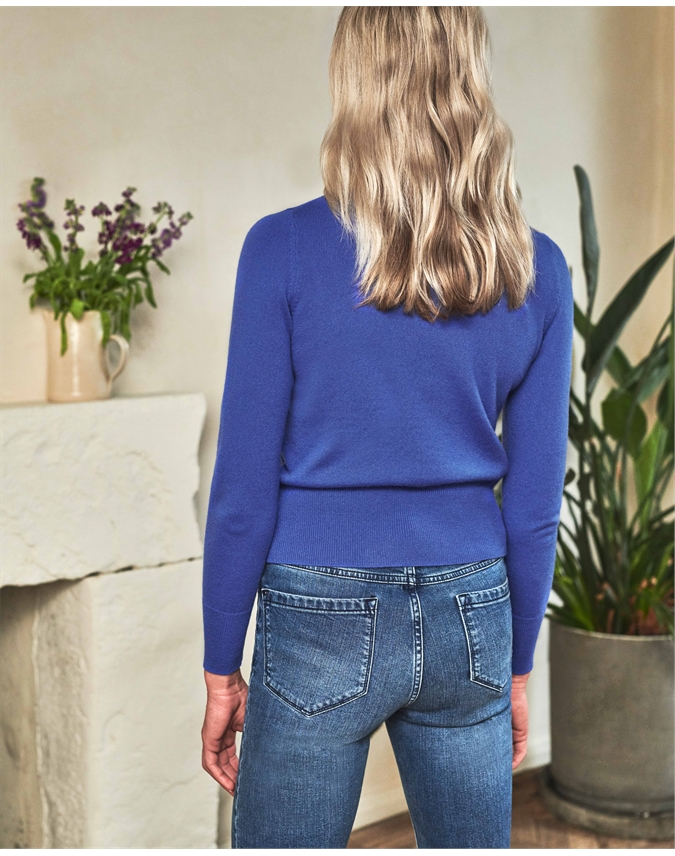 Cashmere Cropped Sweater