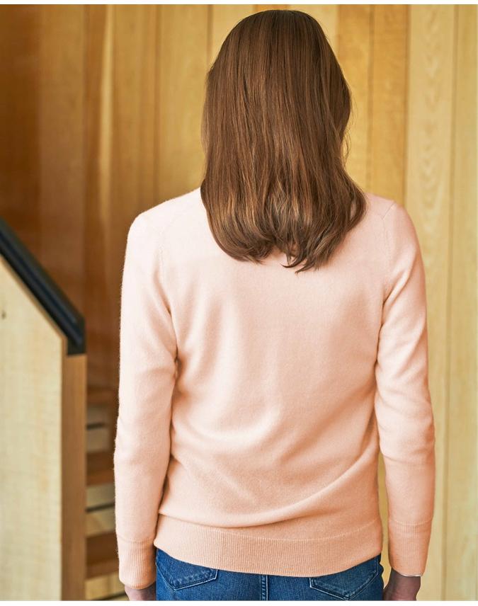 Cashmere V Neck Sweater