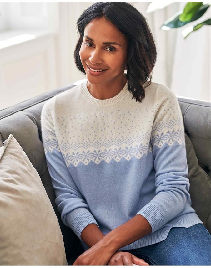 Cashmere Fairisle Sweater