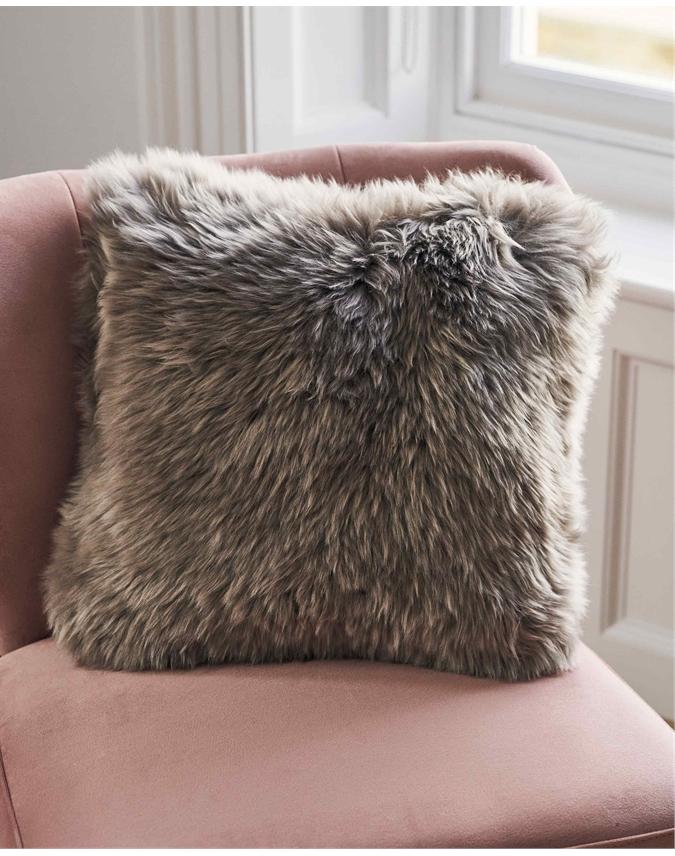 100% Sheepskin Cushion