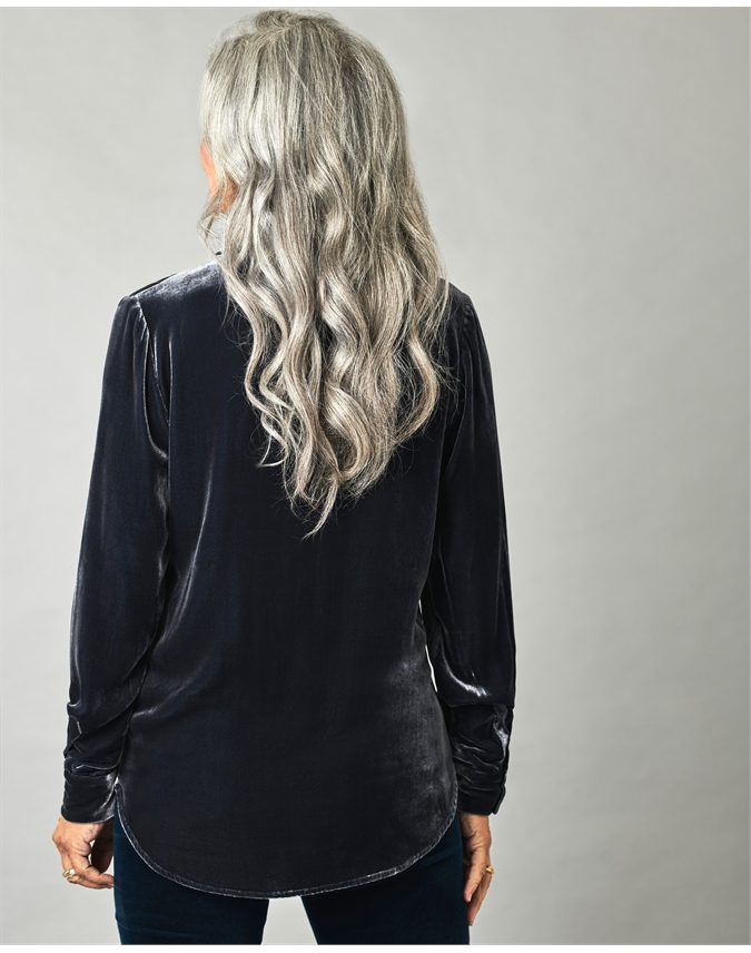Silk Velvet Shirt