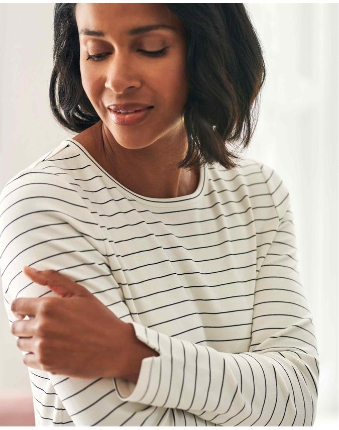 Long Sleeve Stripe T Shirt