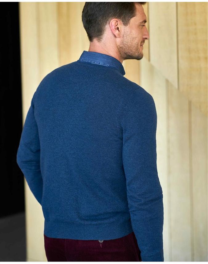 Mens Cashmere Crew Sweater