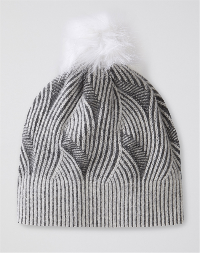 Brushed Cable Hat