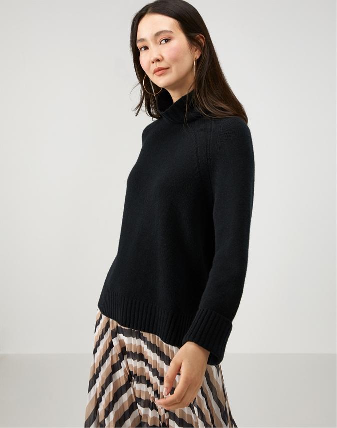 Cashmere Luxury Funnel Sweater