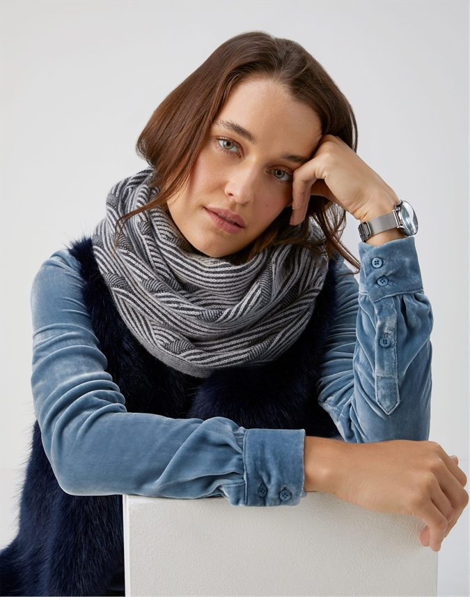Brushed Cable Snood