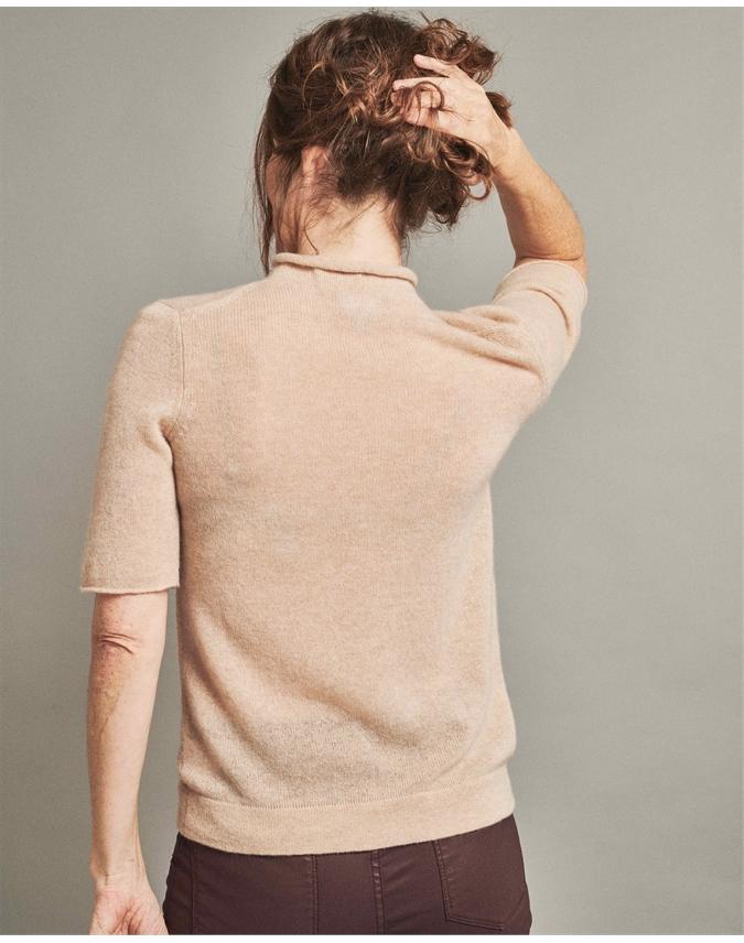 Organic Cashmere T-Shirt