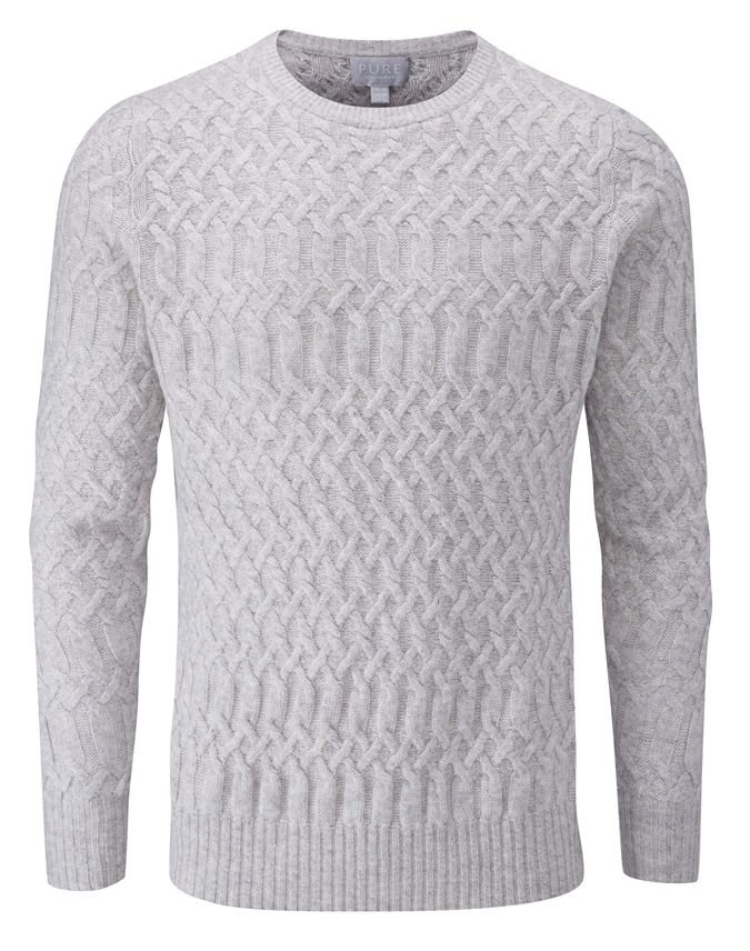 Mens Cable Sweater