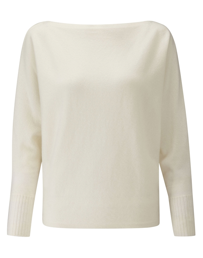 Batwing Cashmere Sweater