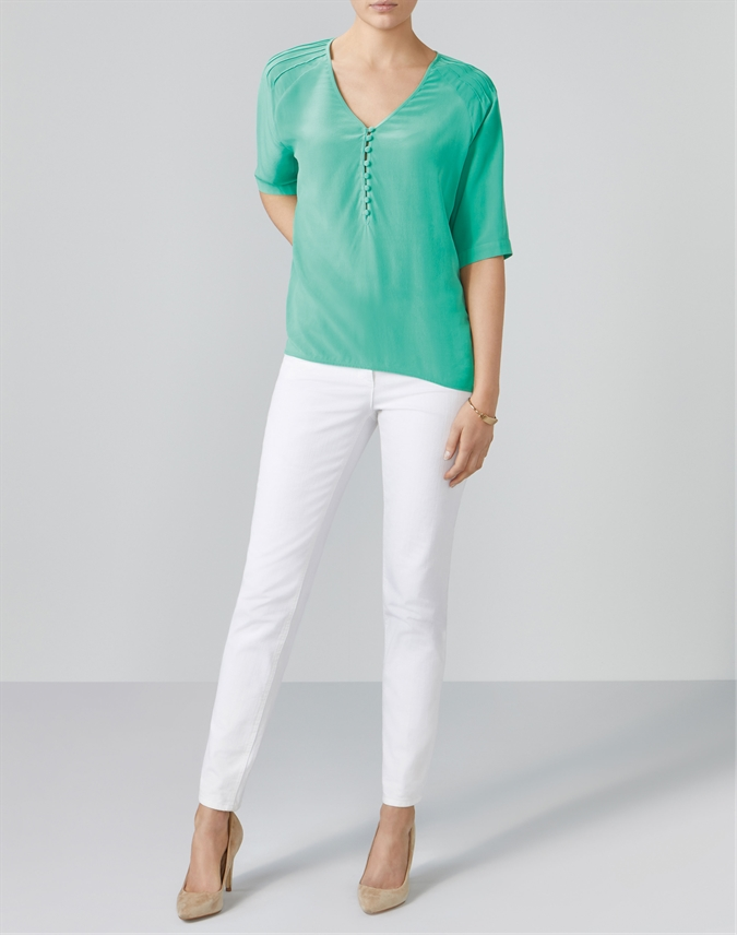 Relaxed Silk Blouse