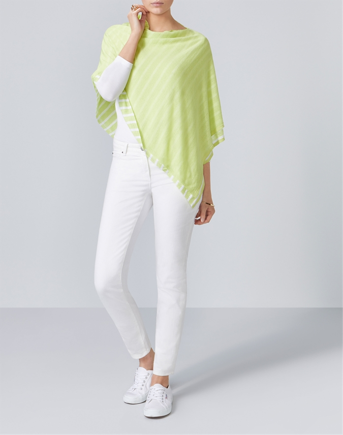 Double Layer Poncho