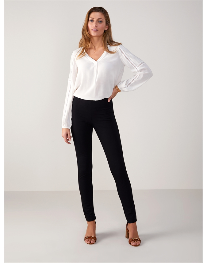 Cotton Stretch Skinny Trouser