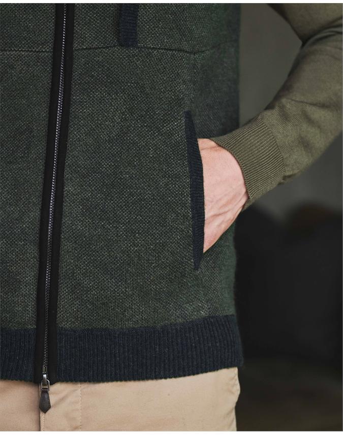 Mens Jacquard Vest