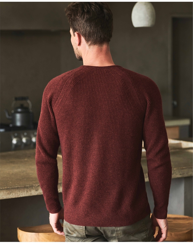 Mens Gassato Ribbed Sweatshirt