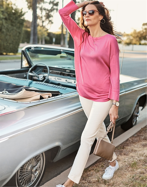 Cotton Silk Sweater
