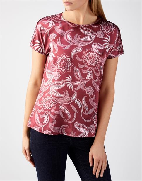 Silk Satin T-Shirt