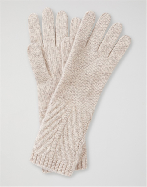 Cashmere Ribbed Glove