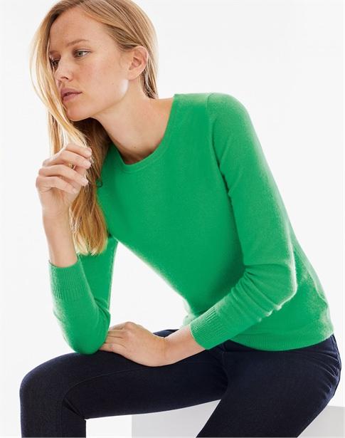 Cashmere Slim Fit Crew Neck Sweater