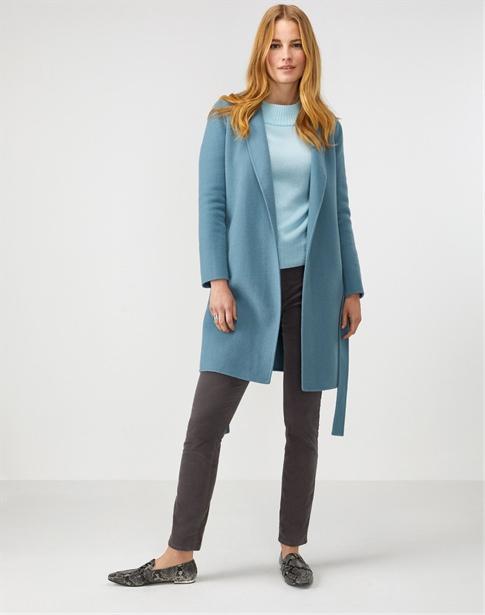 Double Faced Wrap Coat