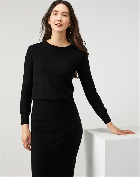 Knitted Ribbed Waist Dress